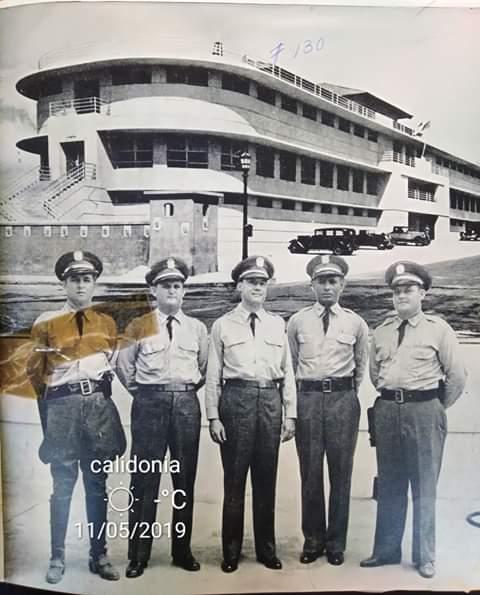 Oficiales de la Policia 1940